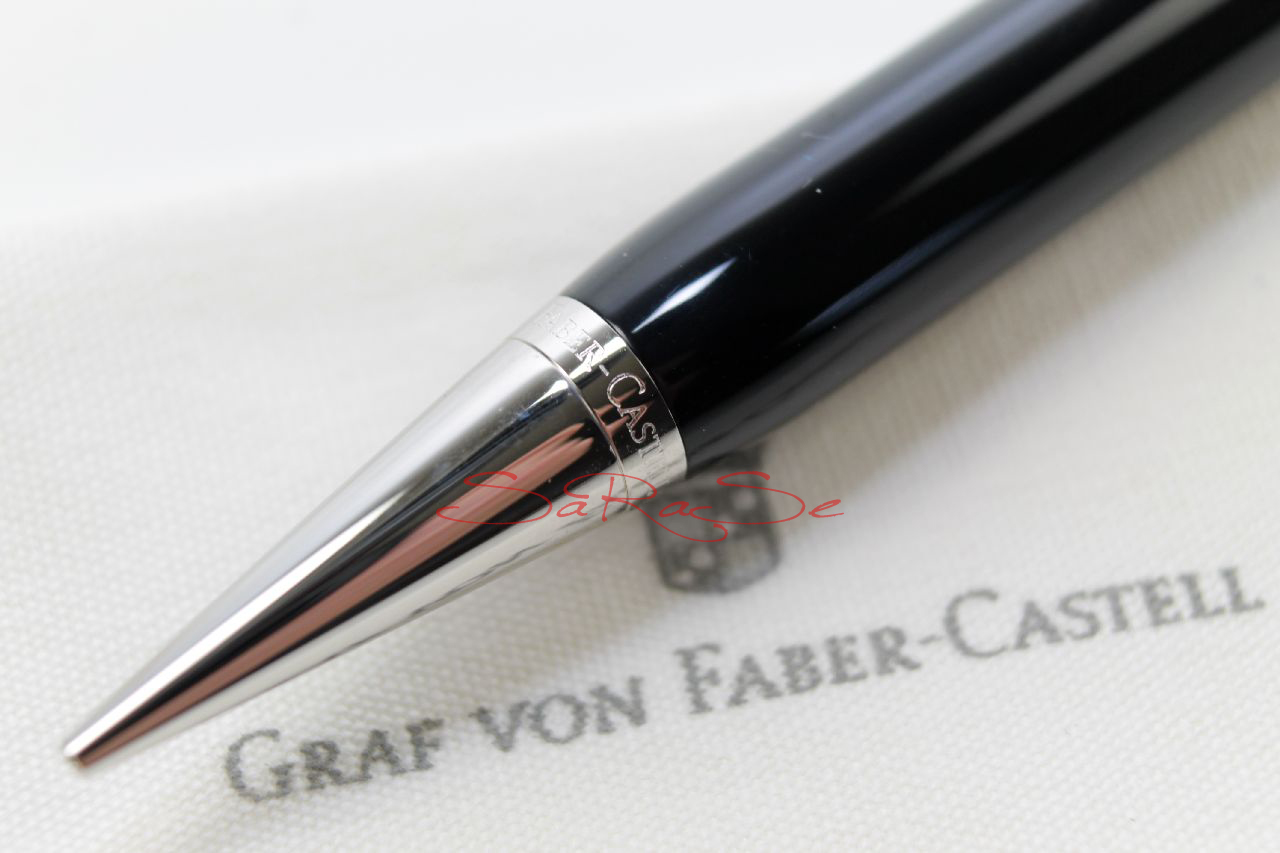 graf von faber castell intuition schwarz 100 bleistift mechanical pencil 0 7 ebay. Black Bedroom Furniture Sets. Home Design Ideas